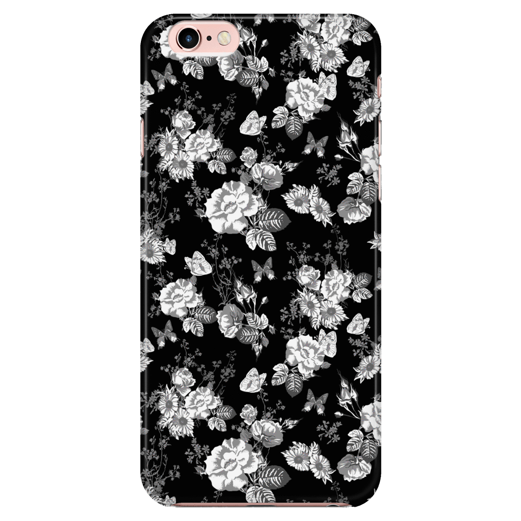 Butterflies and Flowers Phone Case Phone Cases iPhone 7/7s/8