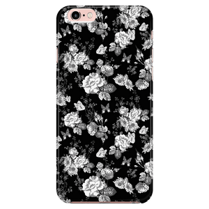 Butterflies and Flowers Phone Case Phone Cases iPhone 6/6s