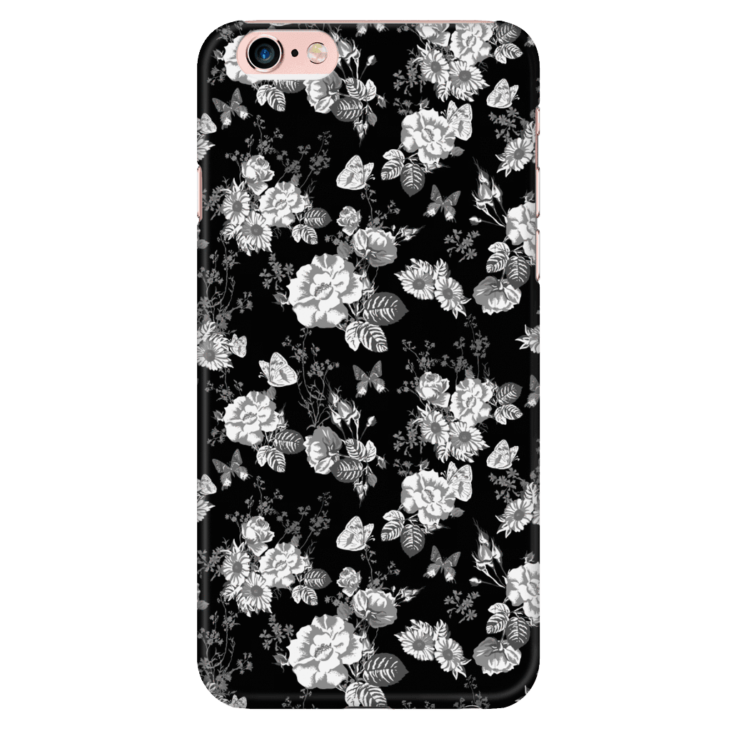 Butterflies and Flowers Phone Case Phone Cases iPhone 6 Plus/6s Plus