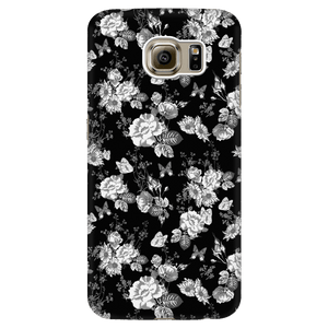 Butterflies and Flowers Phone Case Phone Cases Galaxy S6