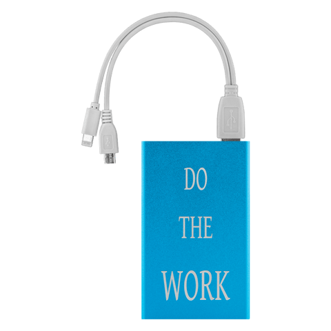 Image of Do The Work Power Bank Power Banks Light Blue