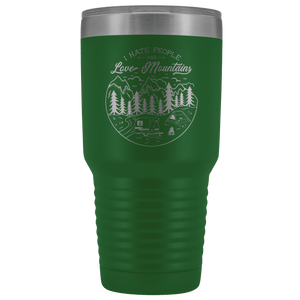 Love the Mountains | 30oz Tumbler Tumblers Green