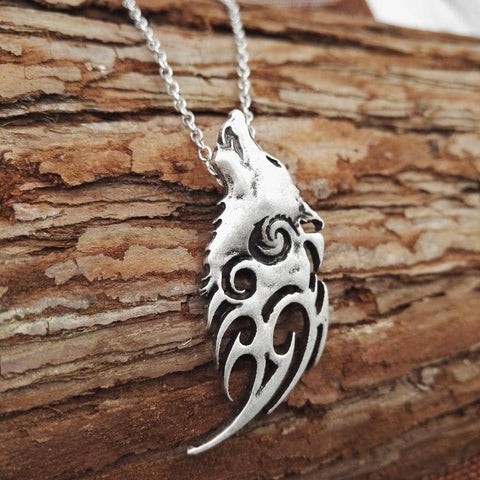 Viking Wolf Necklace & Pendant