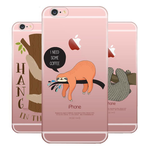 Sloth Soft TPU Silicone Case