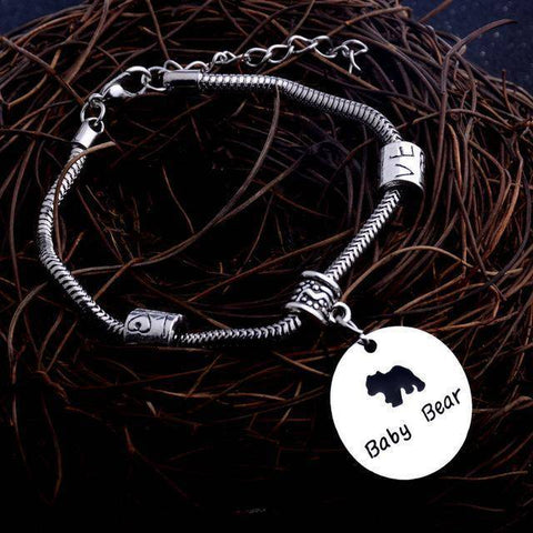Image of MAMA Bear Bracelet One Bear