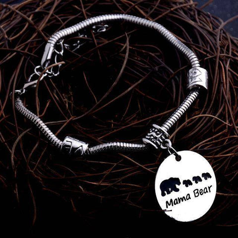 Image of MAMA Bear Bracelet Four Bears
