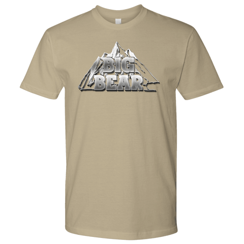 Image of Big Bear V.2, Mens T-shirt Next Level Mens Shirt Sand S