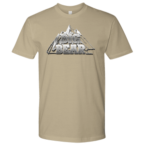 Big Bear V.2, Mens T-shirt Next Level Mens Shirt Sand S