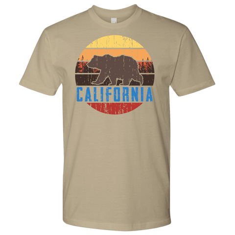 Image of Big Bear Lake California Shirt V.1 T-shirt Next Level Mens Shirt Sand S