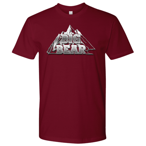 Image of Big Bear V.2, Mens T-shirt Next Level Mens Shirt Cardinal S