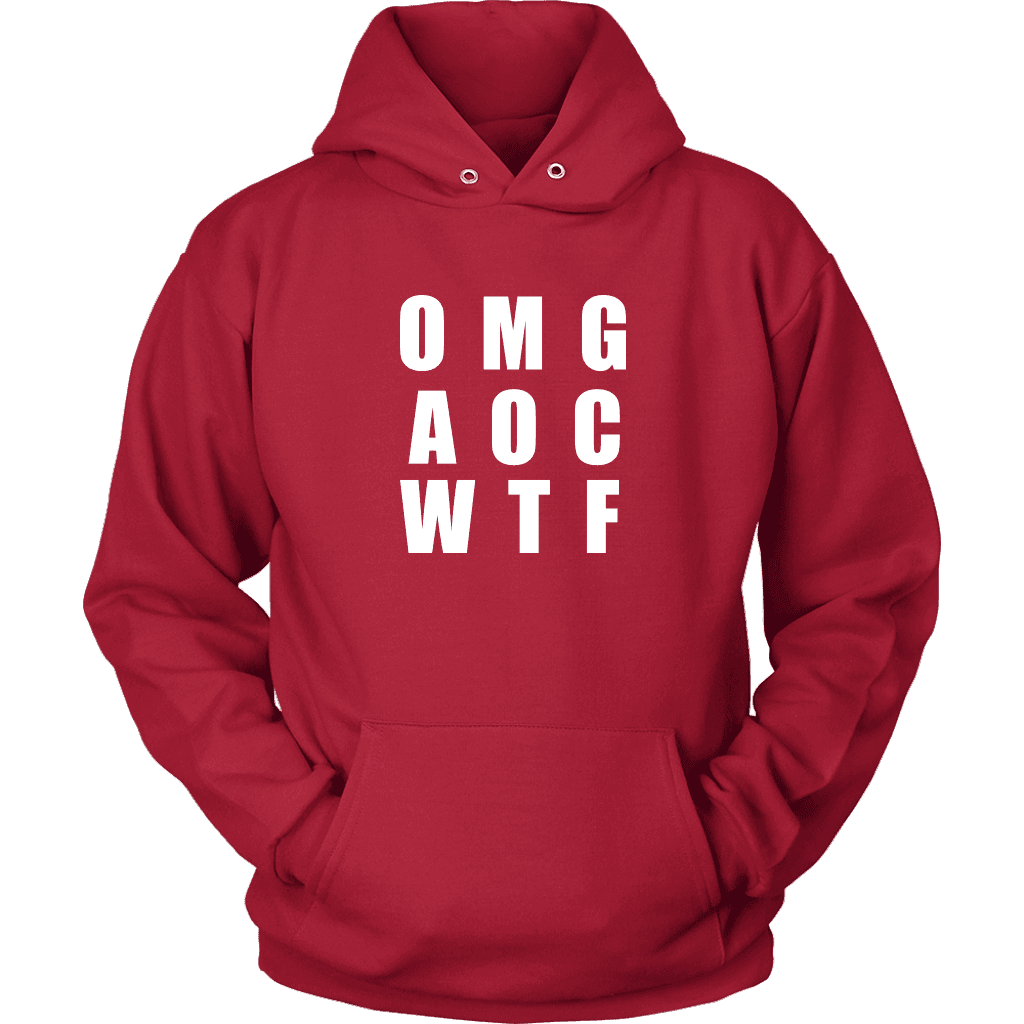 Well There you have it... T-shirt Unisex Hoodie Red S