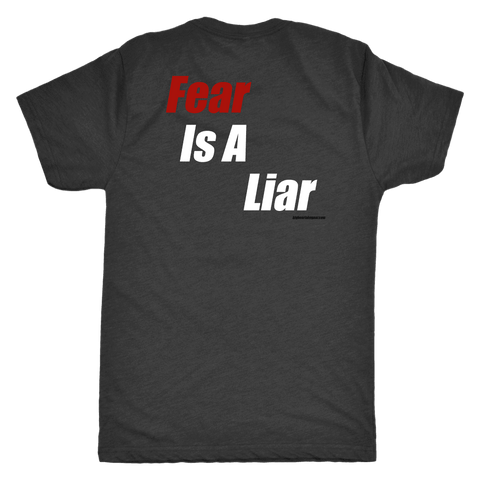 Image of Fear Is A Liar T-shirt