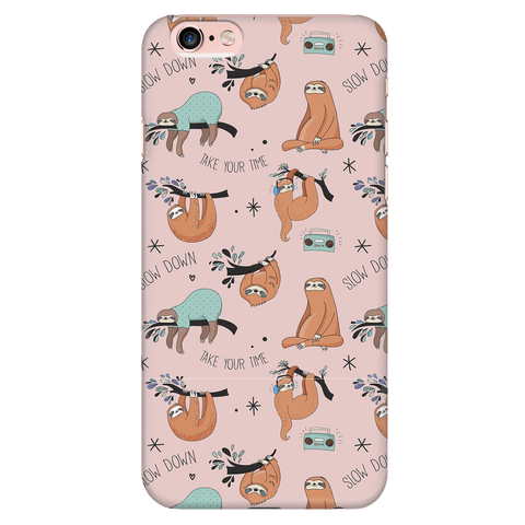 Image of Pink Sloth Collage Phone Case Phone Cases iPhone 6 Plus/6s Plus