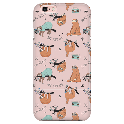Image of Pink Sloth Collage Phone Case Phone Cases iPhone 6/6s