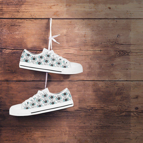 Image of Premium Canvas Shoes, Say Cheese Womens