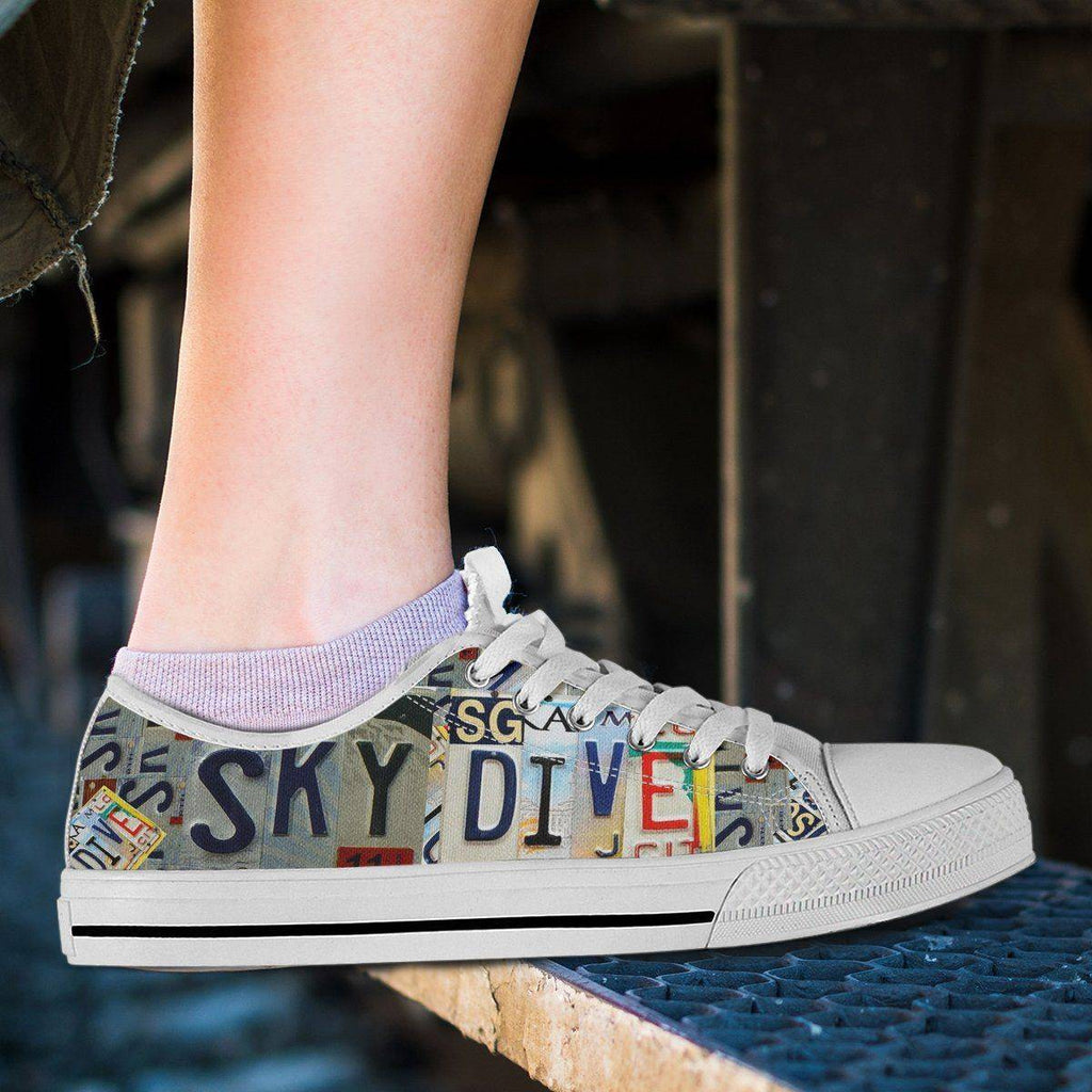 Sky Dive | Premium Low Top Shoe shoes