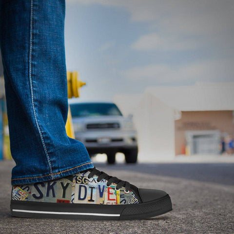 Image of Sky Dive | Premium Low Top Shoe shoes