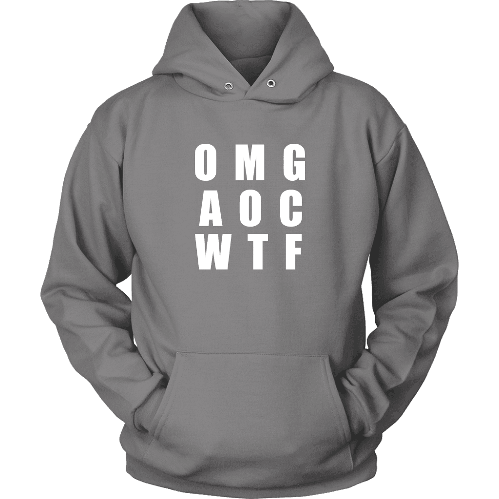 Well There you have it... T-shirt Unisex Hoodie Grey S