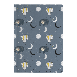 Sleeping Space Sloth Journal | Soft Cover