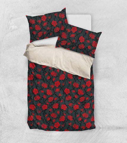Image of Red Roses Bedding bedding
