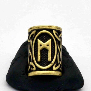 Antique Bronze Norse Viking Rune Beads Beads 13