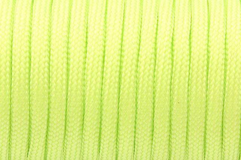 550 Paracord Mil Spec Type III 7 Strand Paracord Flour Green 100feet
