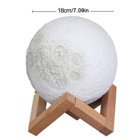 Image of LED Moon Lamp Night Light Night Lights 18 cm