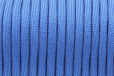550 Paracord Mil Spec Type III 7 Strand Paracord Blue 100feet