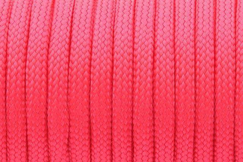 550 Paracord Mil Spec Type III 7 Strand Paracord Red 100feet
