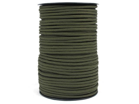 100M 550 Military Standard 9 Core Paracord Paracord OD 100 M