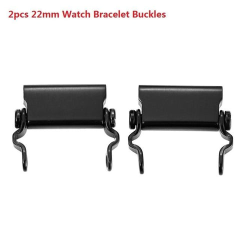 Multifunction Stainless Steel Bracelet Outdoor Tools 2pcs Black Parts International