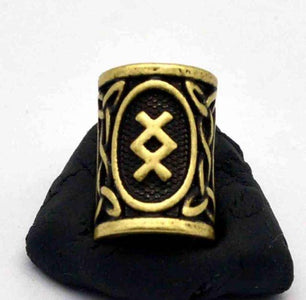 Antique Bronze Norse Viking Rune Beads Beads 3
