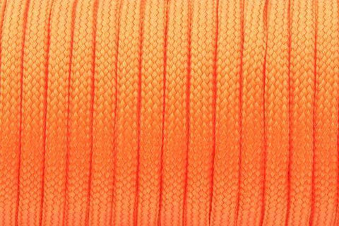 550 Paracord Mil Spec Type III 7 Strand Paracord Orange 100feet