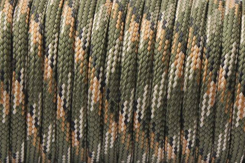 550 Paracord Mil Spec Type III 7 Strand Paracord Army Green 100feet