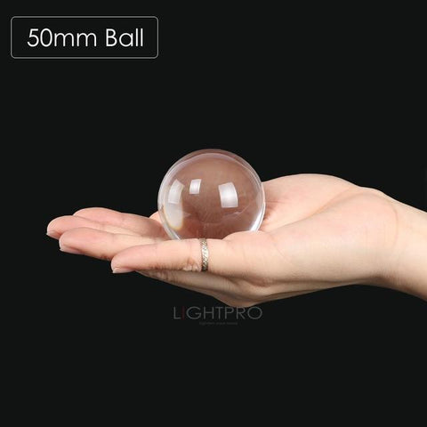 Image of Premium K9 Crystal Lens Ball. Take Your Viewers to a New World With Your Art Photo Studio Accessories 50mm ball