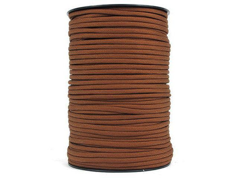 100M 550 Military Standard 9 Core Paracord Paracord Rust 100 M