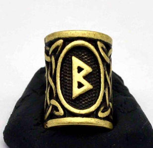 Antique Bronze Norse Viking Rune Beads Beads 6