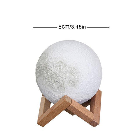 Image of LED Moon Lamp Night Light Night Lights 8 cm