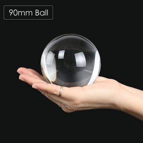 Image of Premium K9 Crystal Lens Ball. Take Your Viewers to a New World With Your Art Photo Studio Accessories 90mm ball