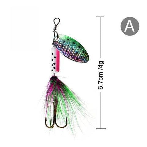 Image of Rooster Tail Trophy Spinners Fishing Lures A