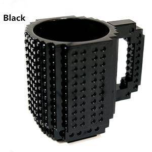 Image of Build-On Brick Mug 350 ml Mugs Black