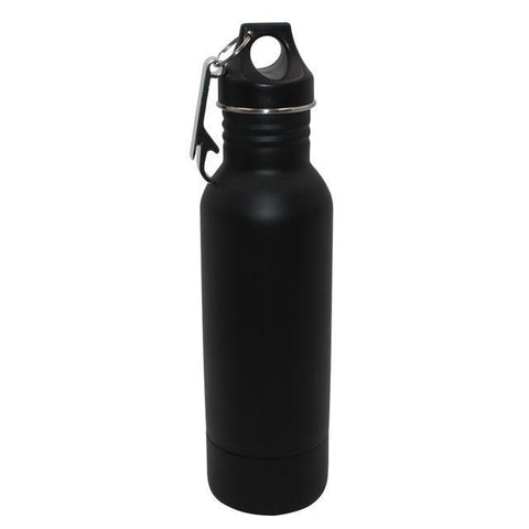 Image of BottleCooler, The BEST Insulated 12 oz. Bottle Holder, Protect Your Drinks This Summer Vacuum Flasks & Thermoses Black