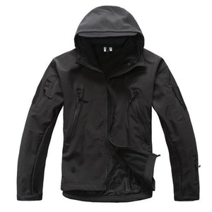 Outdoor Softshell Jacket and Pants Hiking Jackets Black S