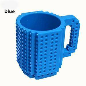 Image of Build-On Brick Mug 350 ml Mugs Blue