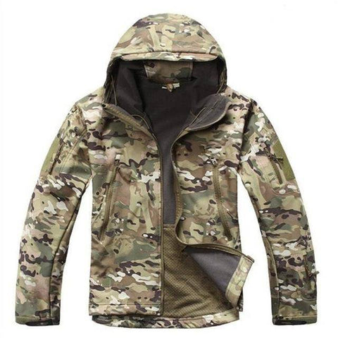 Image of Outdoor Softshell Jacket and Pants