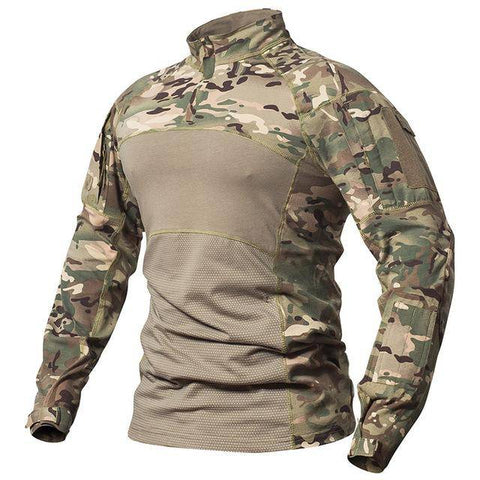 Image of Men's Long Sleeve Field Shirt T-Shirts CP S