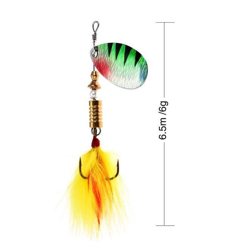 Rooster Tail Trophy Spinners Fishing Lures E