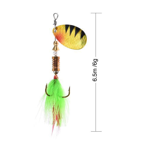Rooster Tail Trophy Spinners Fishing Lures G