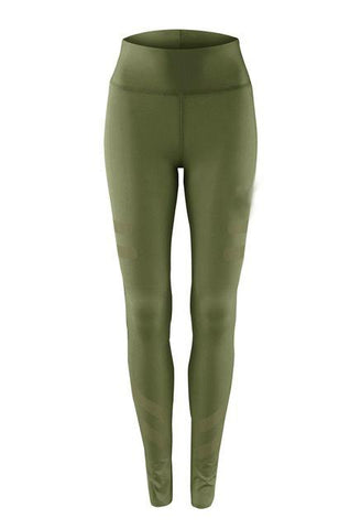 Women's Quick Dry Workout Leggings Leggings Green S