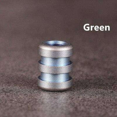 Image of Titanium Paracord Beads V.3 Paracord Green